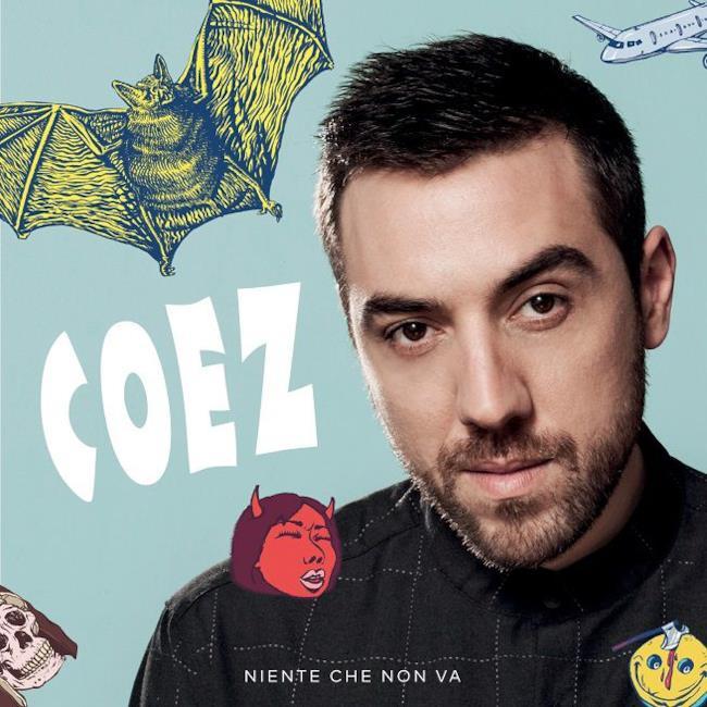 Coez cover album