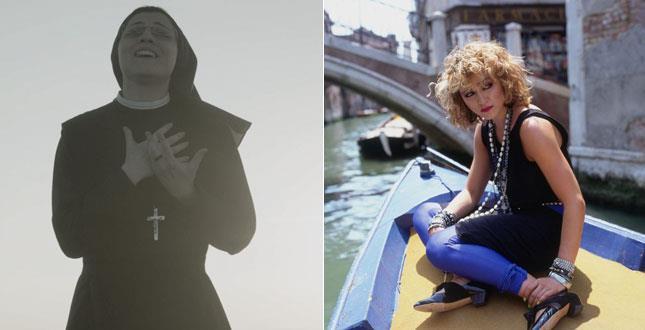 Suor Cristina a Venezia come Madonna