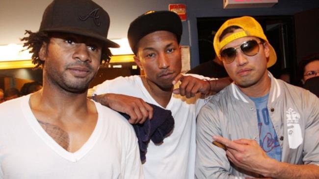 Pharrell insieme ai N.E.R.D.