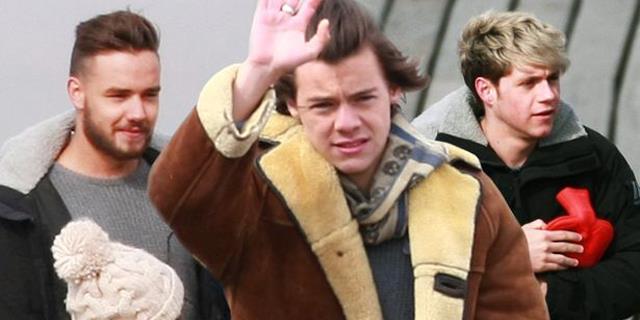 Harry Styles, Liam Payne e Niall Horan