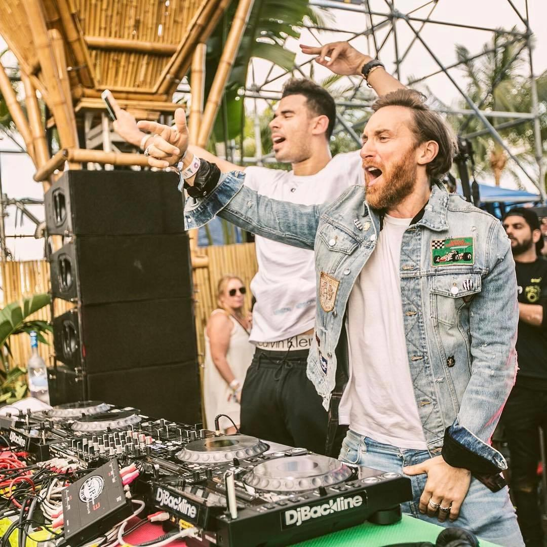 Afrojack e David Guetta in B2B sul Jacked Stage