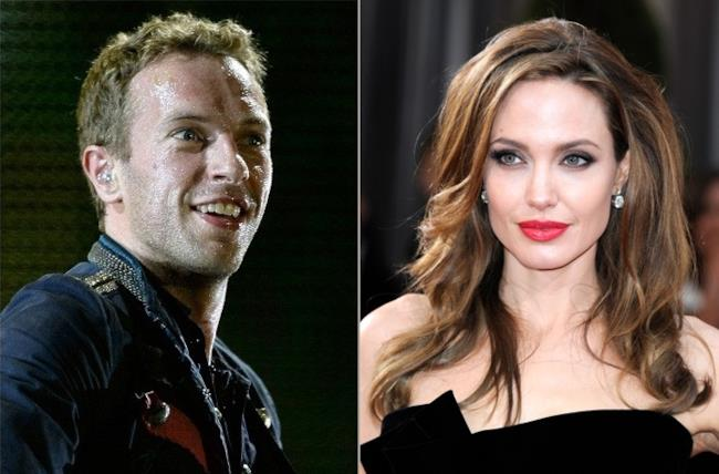 Chris Martin e Angelina Jolie