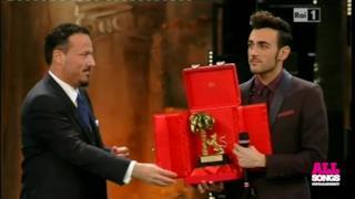 Marco Mengoni L'essenziale vince Sanremo 2013