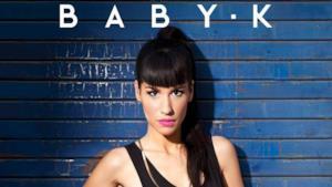 Baby K sulla copertina di Kiss Kiss Bang Bang