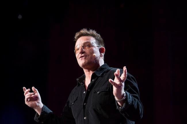 Bono Vox degli U2