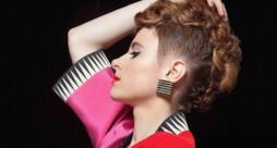 La cantante canadese Kiesza di profilo