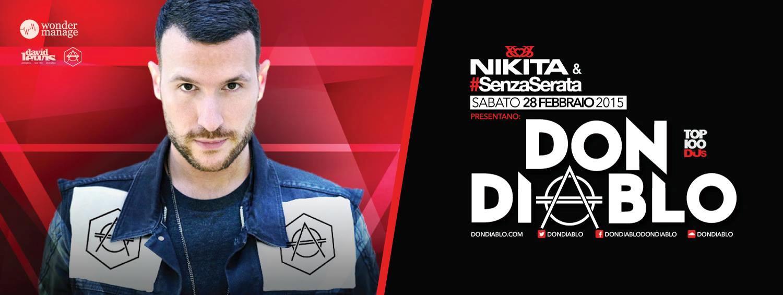 L'olandese Don Diablo arriva in Italia ospite del Nikita