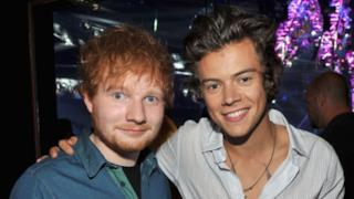 Ed Sheeran e Harry Styles