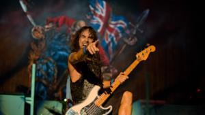 Steve Harris degli Iron Maiden
