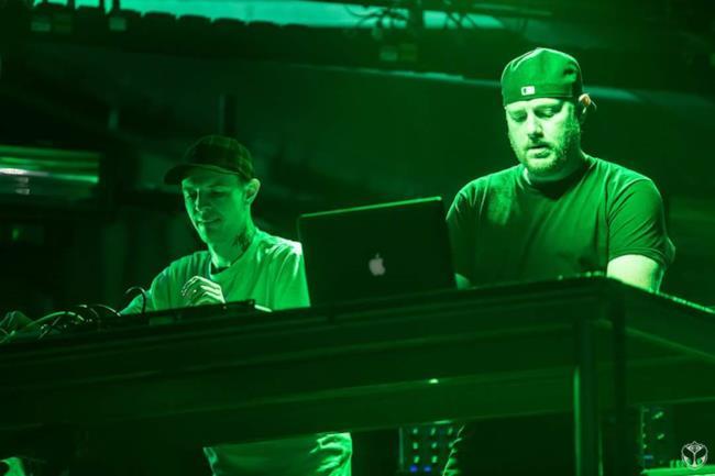 Deadmau5 e Eric Prydz assieme sul palco nel 2016