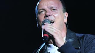 Il cantautore napoletano Gigi D'Alessio