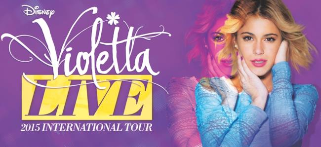 Violetta Live 2015 International Tour