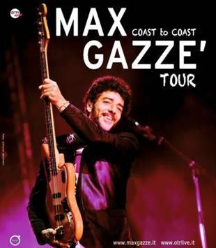 Max Gazzè in tour, esatet 2015 - locandina