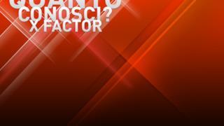 Quanto conosci X Factor?