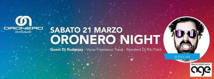 Rudedeejay sarà ospite all'Oronero di Bergamo