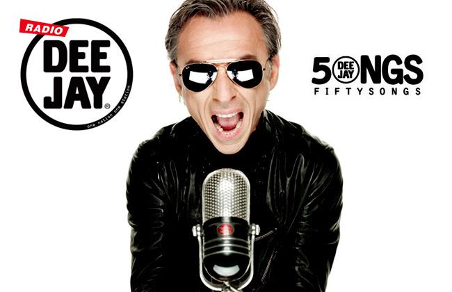 La classifica di Classifica Radio Deejay 50 Songs condotta da Albertino