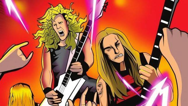I Metallica hanno celebrato la loro storia con un fantastico fumetto a colori