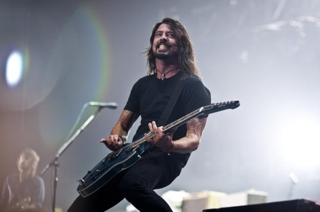 Dave Grohl, cantante dei Foo Fighters