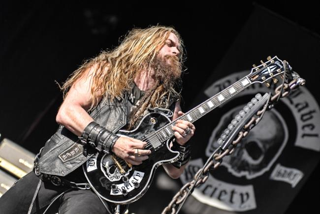 Il leader dei Black Label Society, Zakk Wylde