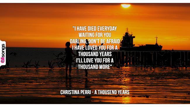 Christina Perri: le migliori frasi dei testi delle canzoni