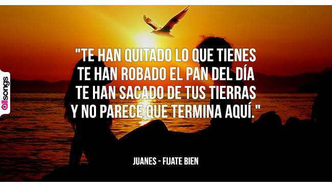 Juanes: le migliori frasi dei testi delle canzoni