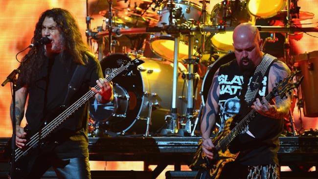 Tom Araya e Kerry King degli Slayer
