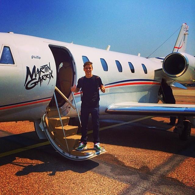Martin Garrix possiede un jet Privato