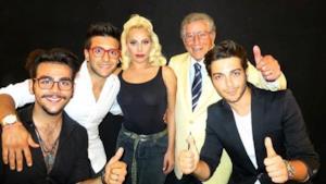 Lady Gaga, Il Volo e Tony Bennett