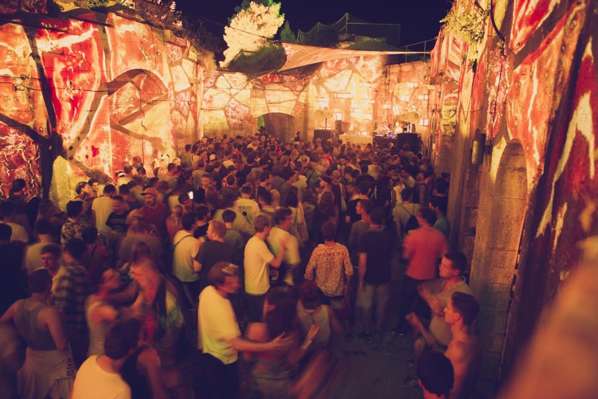 Dimensions Festival, vista dall'alto
