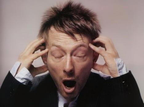 Thom Yorke, il leader dei Radiohead