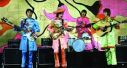 Beatles live sul palco