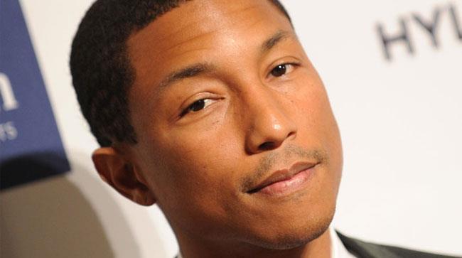 Primo piano di Pharrell Williams