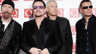I quattro componenti della band irlandese U2