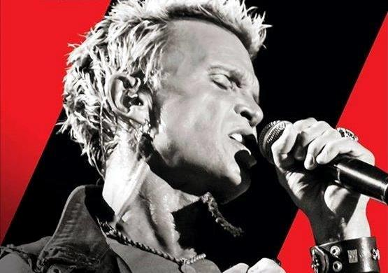 Billy Idol locandina tour 2014