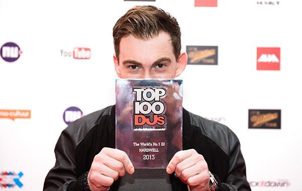 Hardwell DJMag 2013