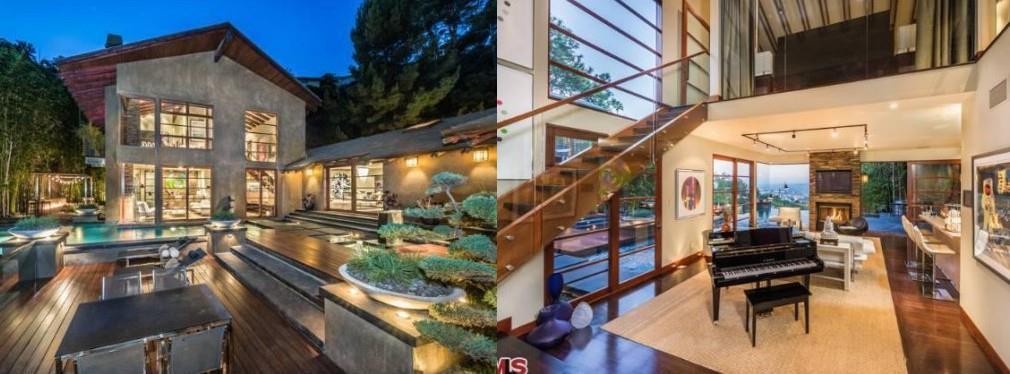 La villa di Calvin Harris a Beverly Hills