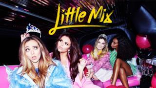 Le Little Mix sul set del video Love Me Like You