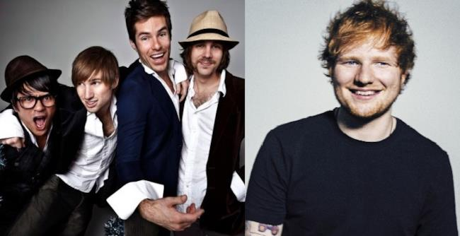 Ed Sheeran e Saint Motel