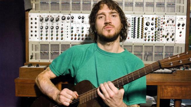 John Frusciante quando era solamente un chitarrista