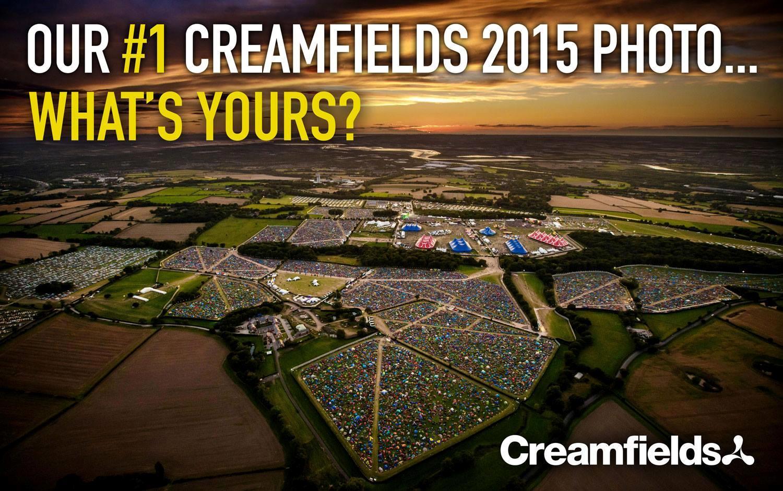 Creamfields 2015 Camping