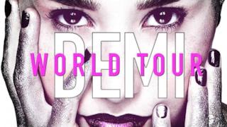Demi World Tour locandina