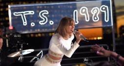 Taylor Swift sul tetto di iHeartRadio per la secret session di 1989