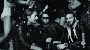 Una scena di Take One, il documentario degli Swedish House Mafia