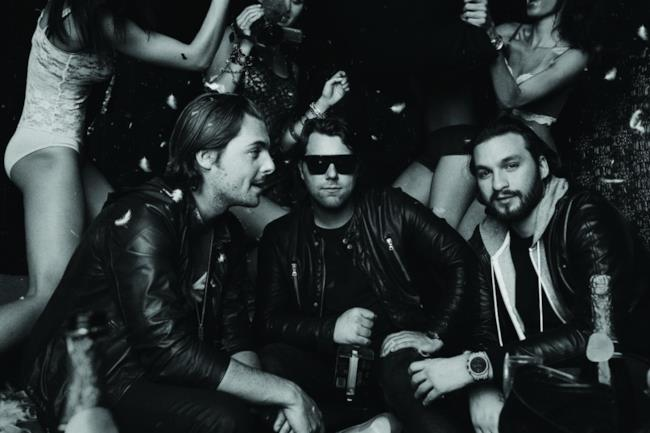 Una scena di Take One, il documentario degli Swedish House Mafia
