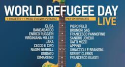 Giornata Mondiale del Rifugiato, concerto a Firenze con Elisa, Pelù e Ruggeri