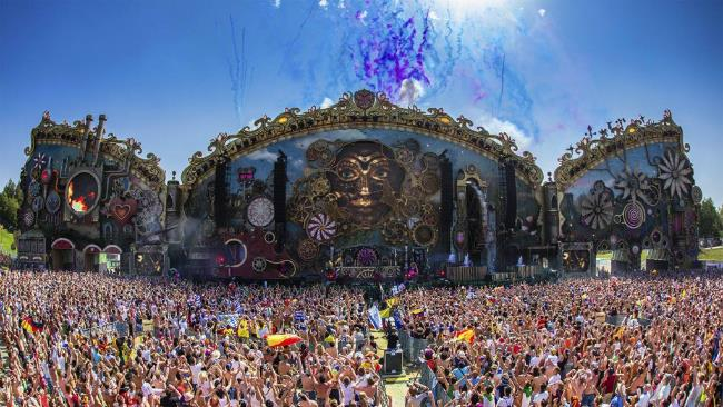 Stage del Tomorrowland