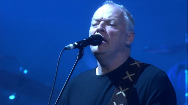 David Gilmour dal vivo.