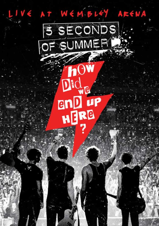 Live DVD 5 Seconds Of Summer