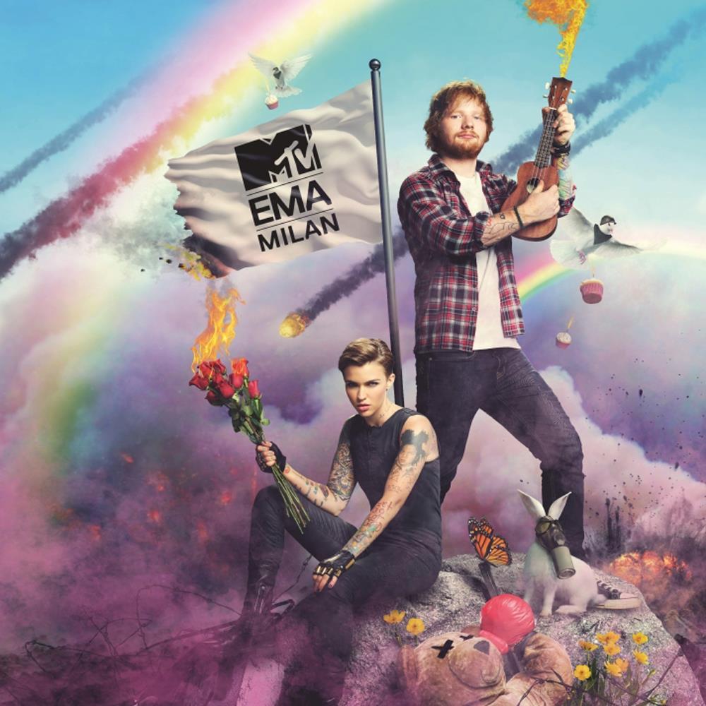 Ruby Rose Langenheim e Ed Sheeran presenteranno gli MTV EMA 2015 a Milano