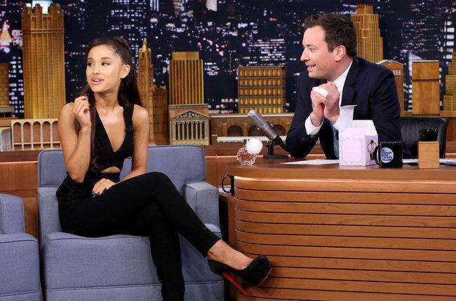 Il 15 settembre 2015 Ariana Grande è stata ospite dello show di Jimmy Fallon